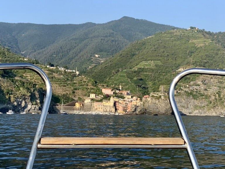 Getting Around Cinque Terre by Boat