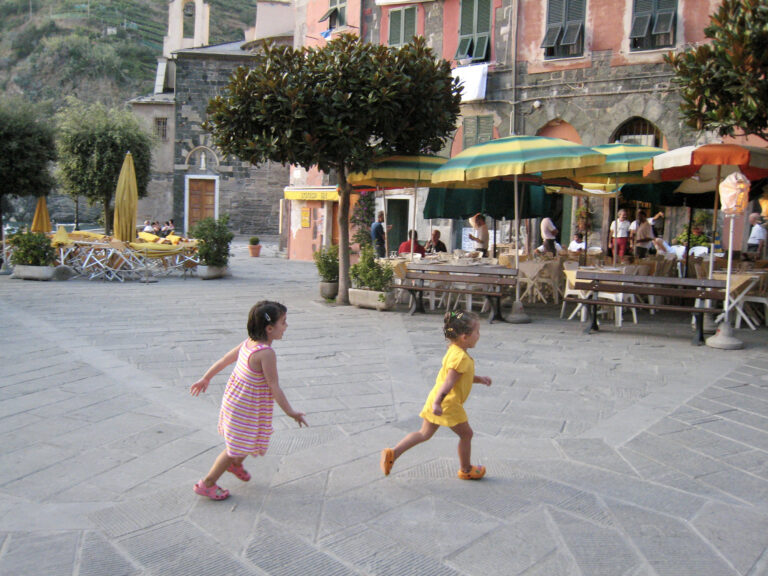 Tips for Travel to Cinque Terre Vacation with Young Children